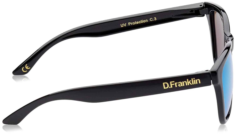 D.Franklin ROOSEVELT SHINY BLACK/GREEN - gafas de sol ...