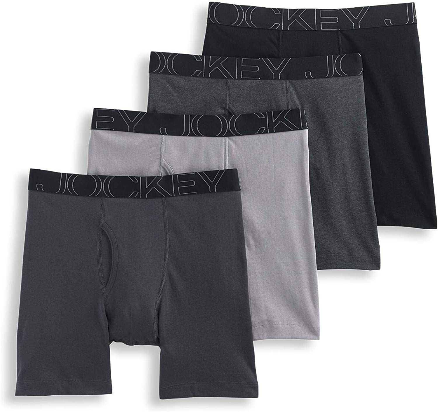 Jockey Men's Underwear ActiveBlend Midway - 4 Pack