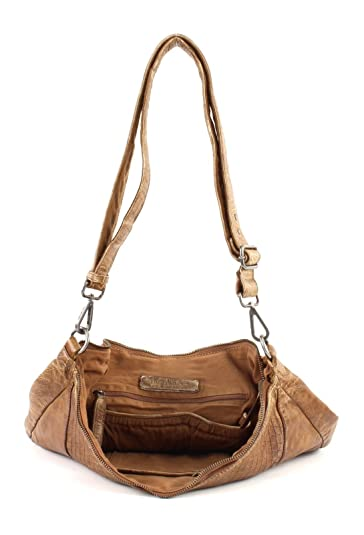 FredsBruder Arrow unique Schultertasche brown_camel x: Amazon.co.uk: Shoes  & Bags