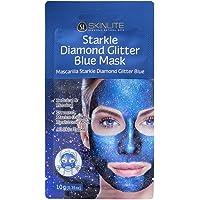 Máscara Stakle de Diamante com Glitter Azul, Skinlite