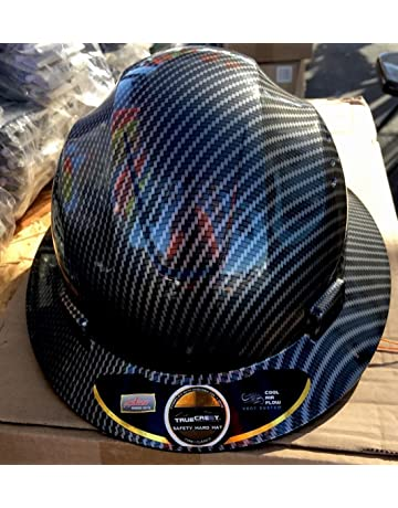 Fiberglass Hard Hat Black silver ( Cool Air Flow) b3b018cff6bb
