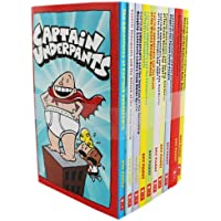 Captain Underpants 10 Books Box Set