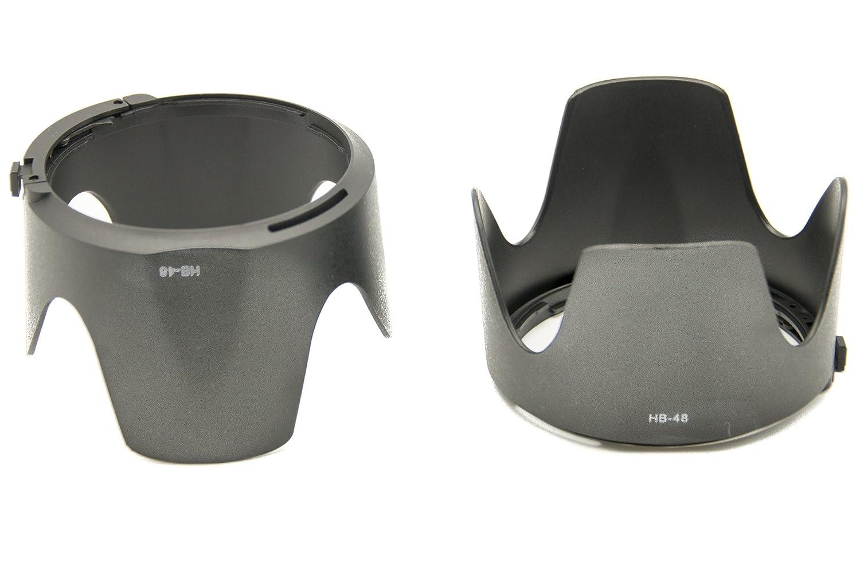 PROtastic Replacement HB-48 HB48 Petal Lens Hood *** 2 PACK *** For Nikon AF-S NIKKOR 70-200mm f//2.8G ED VR II Lens