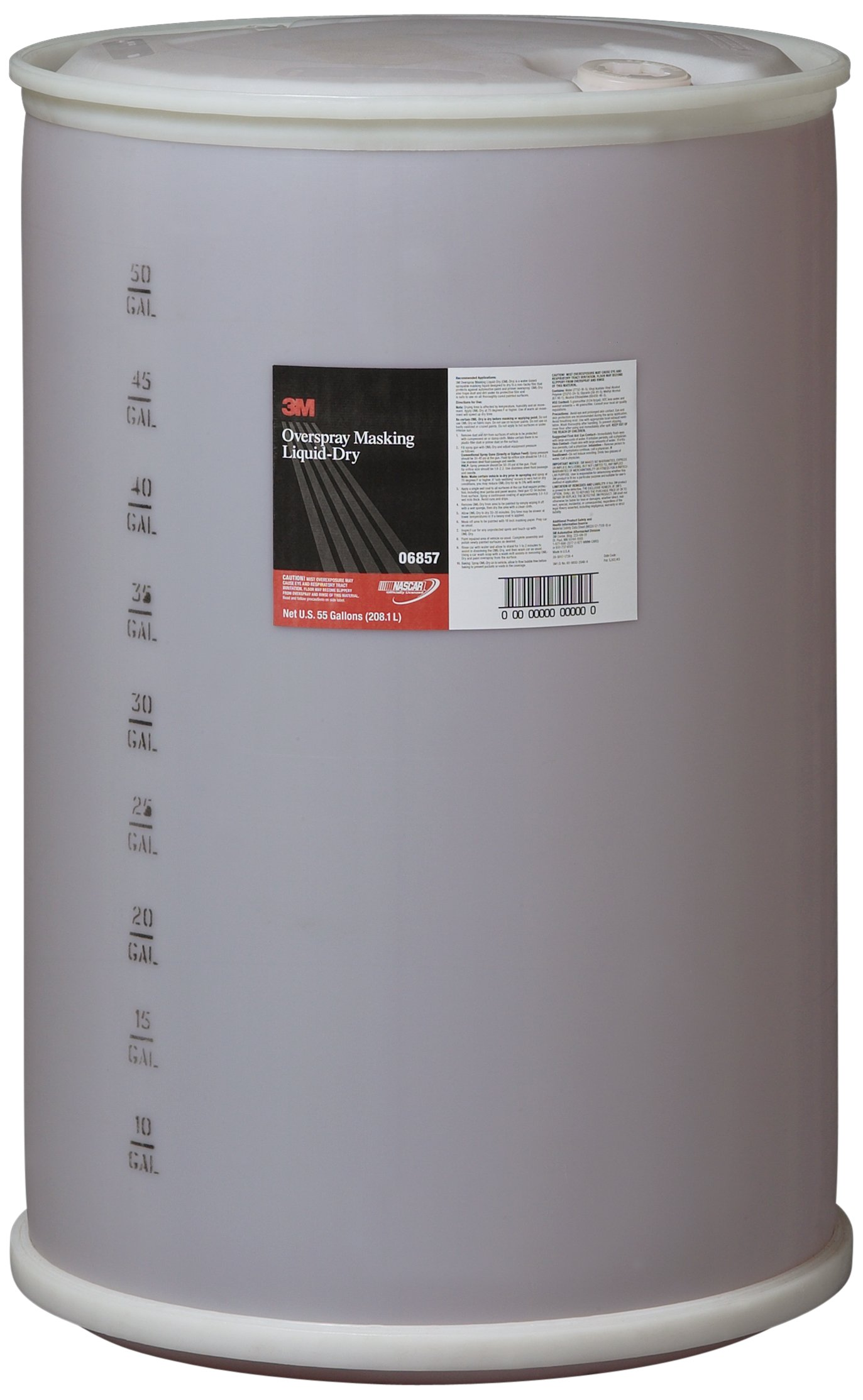 3M 06857 Overspray Masking Liquid-Dry - 55 Gallon by 3M (Image #1)