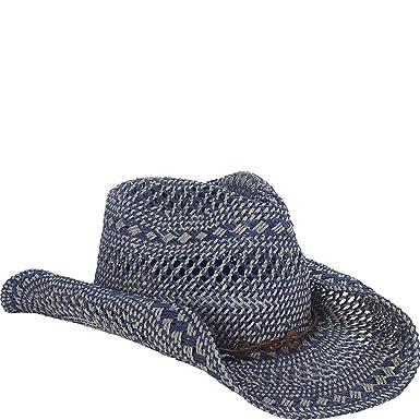 72b383b9 Sun 'N' Sand Western Cowboy Hat (One Size - Navy) at Amazon Women's ...