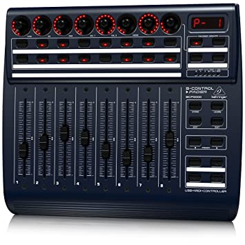 Behringer BCF2000,BCR2000 USB MIDI Driver Download