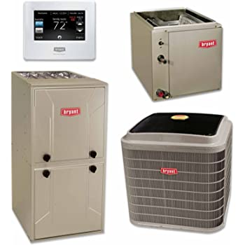 Amazon Com Payne 3 5 Ton 14 Seer Air Conditioner Indoor Coil And 80 Btu Furnace Home Amp Kitchen
