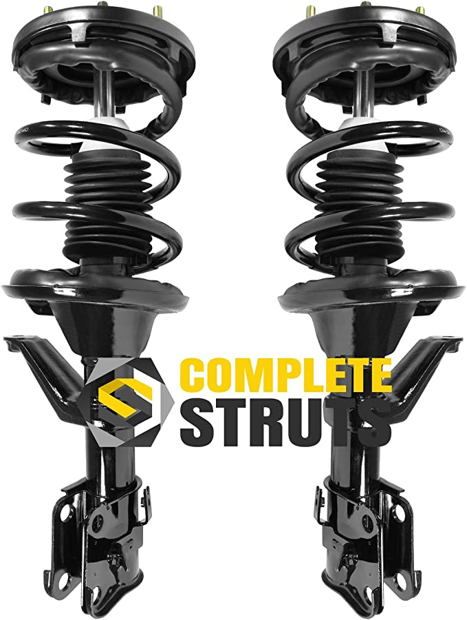 Pair Front Quick Complete Struts /& Coil Spring Assemblies Compatible with 2002-2006 Honda CR-V