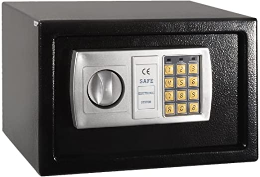 "12.5/"" Electronic Digital Lock Keypad Safe Box Cash Jewelry Gun Safe Hotel Office"