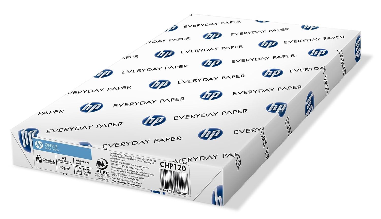 Wei/ß 5x500 Blatt HP Kopierpapier Office CHP 120-80 g 80 g//m/² DIN A4 500 Blatt wei/ß DIN-A3 matt Allround Kopierpapier f/ür B/üro /& Basics Druckerpapier