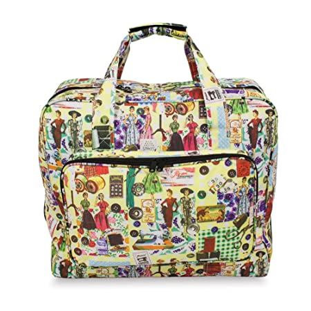 Roo Beauty Sewing Machine Carry Case Bag In Stylish Retro Design
