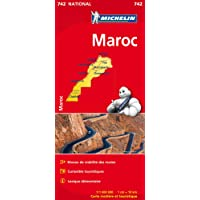 Carte NATIONAL Maroc Michelin