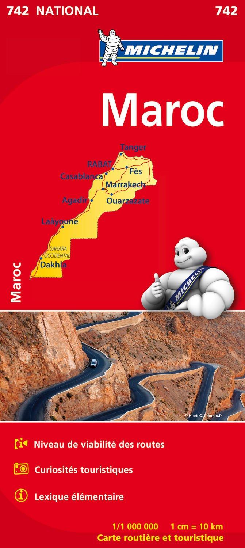 Carte Maroc Michelin (Allemand) Carte – 14 novembre 2014 2067202847 Karten / Stadtpläne / Afrika Cartes routières afrique Cartes étrangères