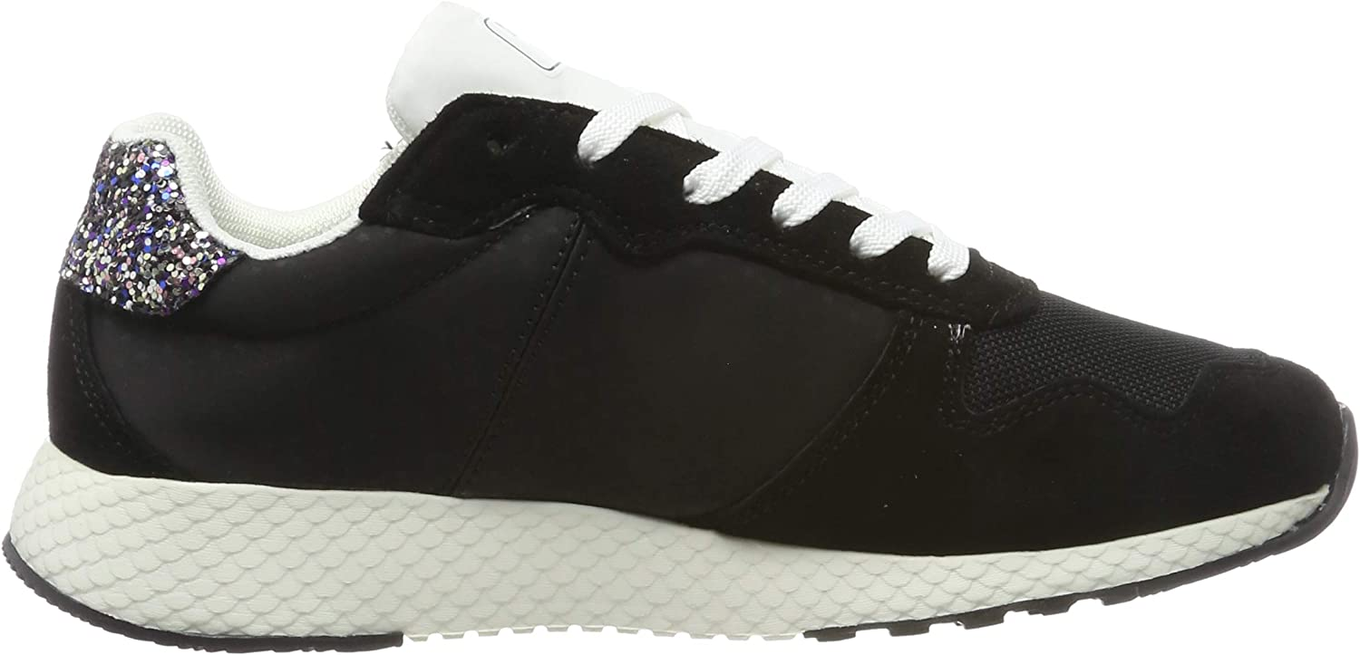 Pepe Jeans Women's Low-Top Sneakers Black Black 999