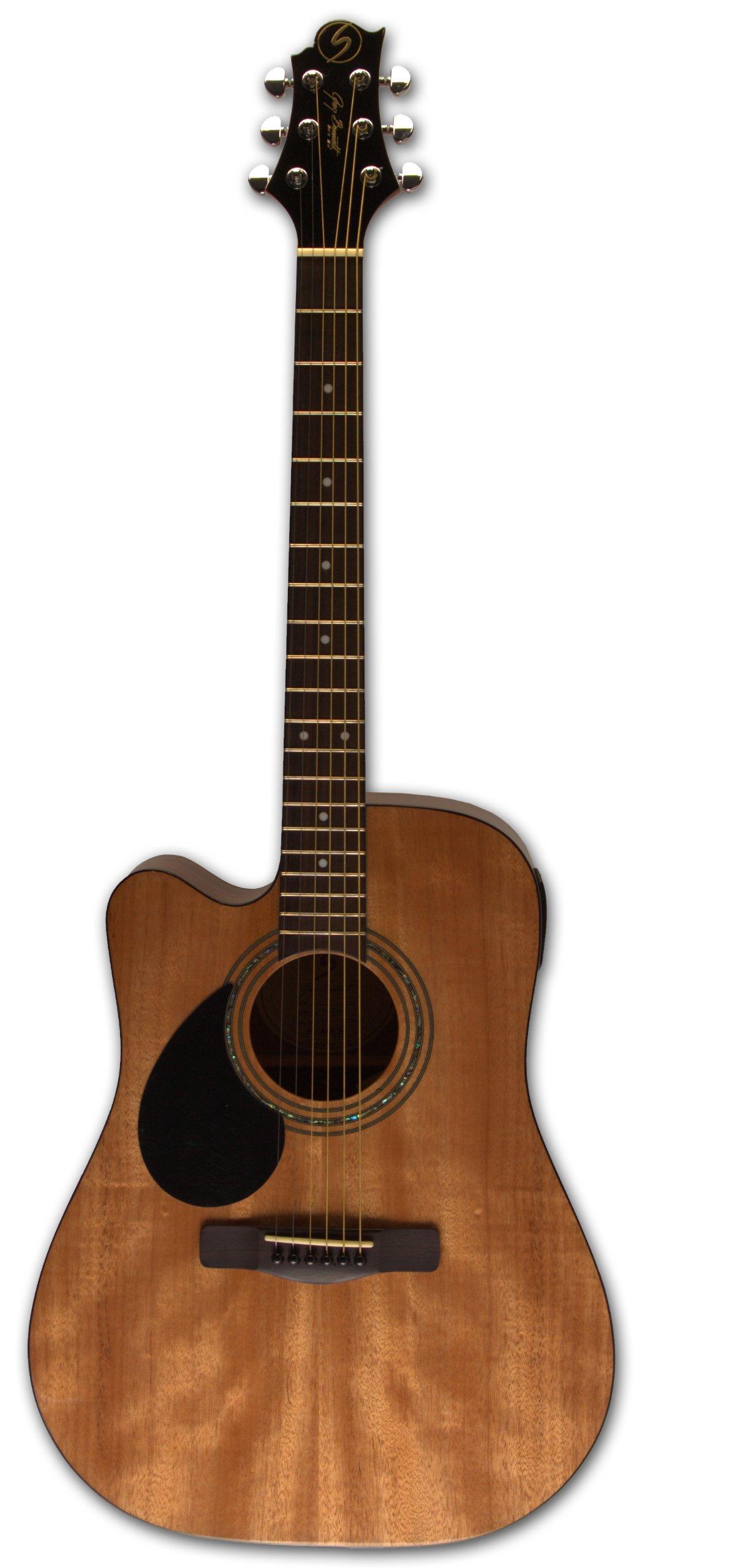 Samick Greg Bennett Design D1CE LH Acoustic Guitar, Natural by Samick