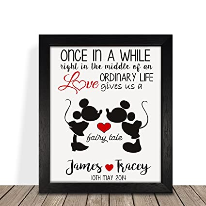 Personalised Presents Gifts For Him Her Husbnd Wife Couples Girlfriend Boyfriend Him Her Wedding Anniversary Valentines
