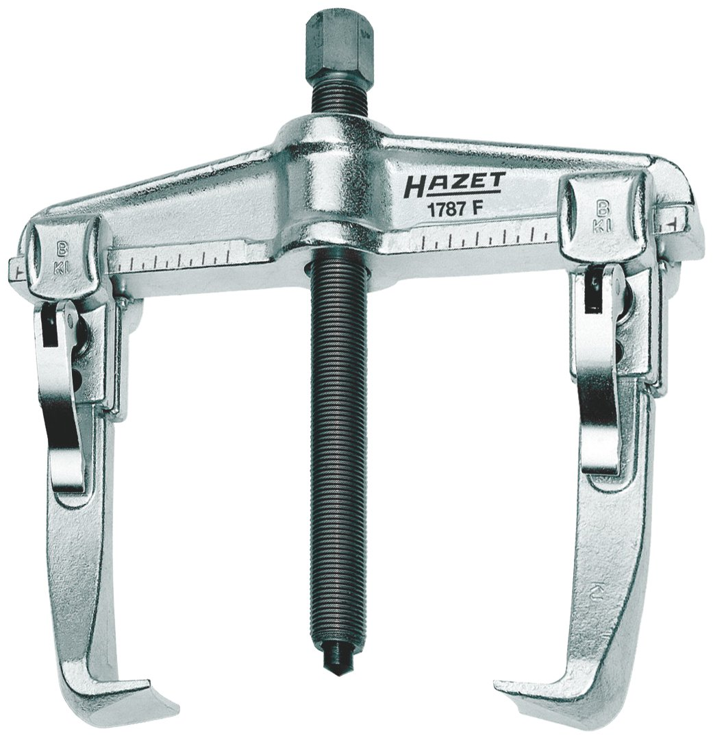 Hazet 1787F-20 Quick-clamping puller, 2-arm