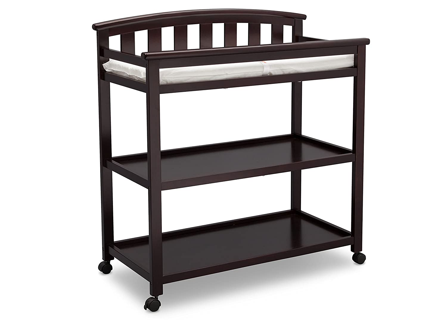 Delta Children Arch Top Changing Table with Casters, Grey Delta Enterprise Corp - PLA 540240-026