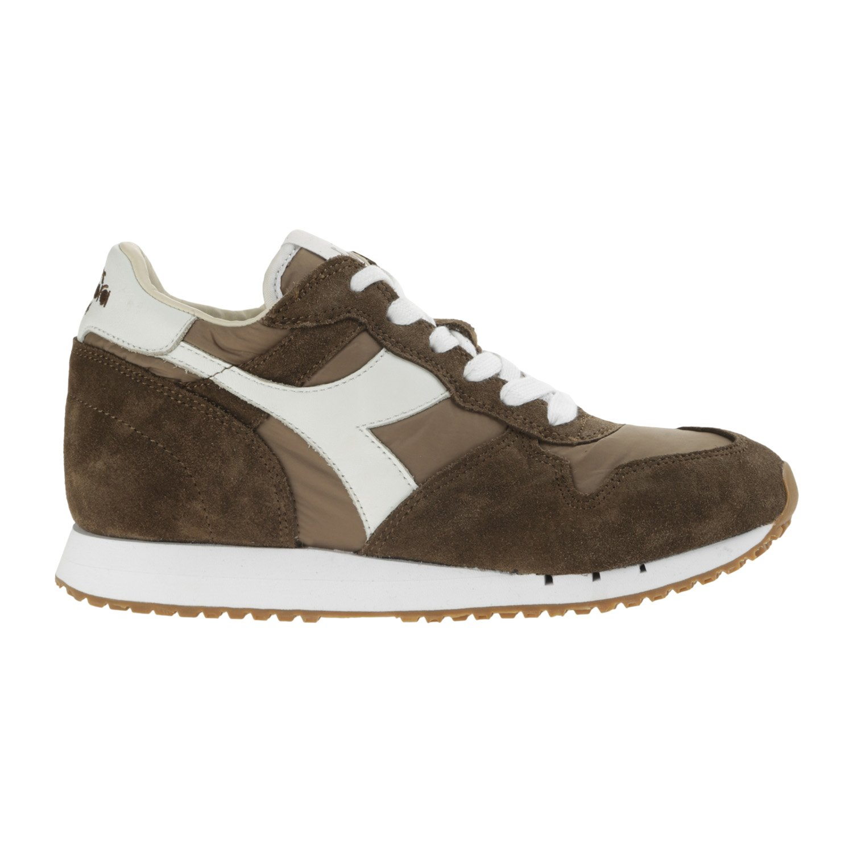 Diadora Heritage - Sneakers Trident W NYL para Mujer EU 40.5 - US 7.5 - UK 7 (cm 25.5)|75016 - Gris de Nuez