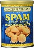 Spam Macadamia Nuts 4.5 oz Can