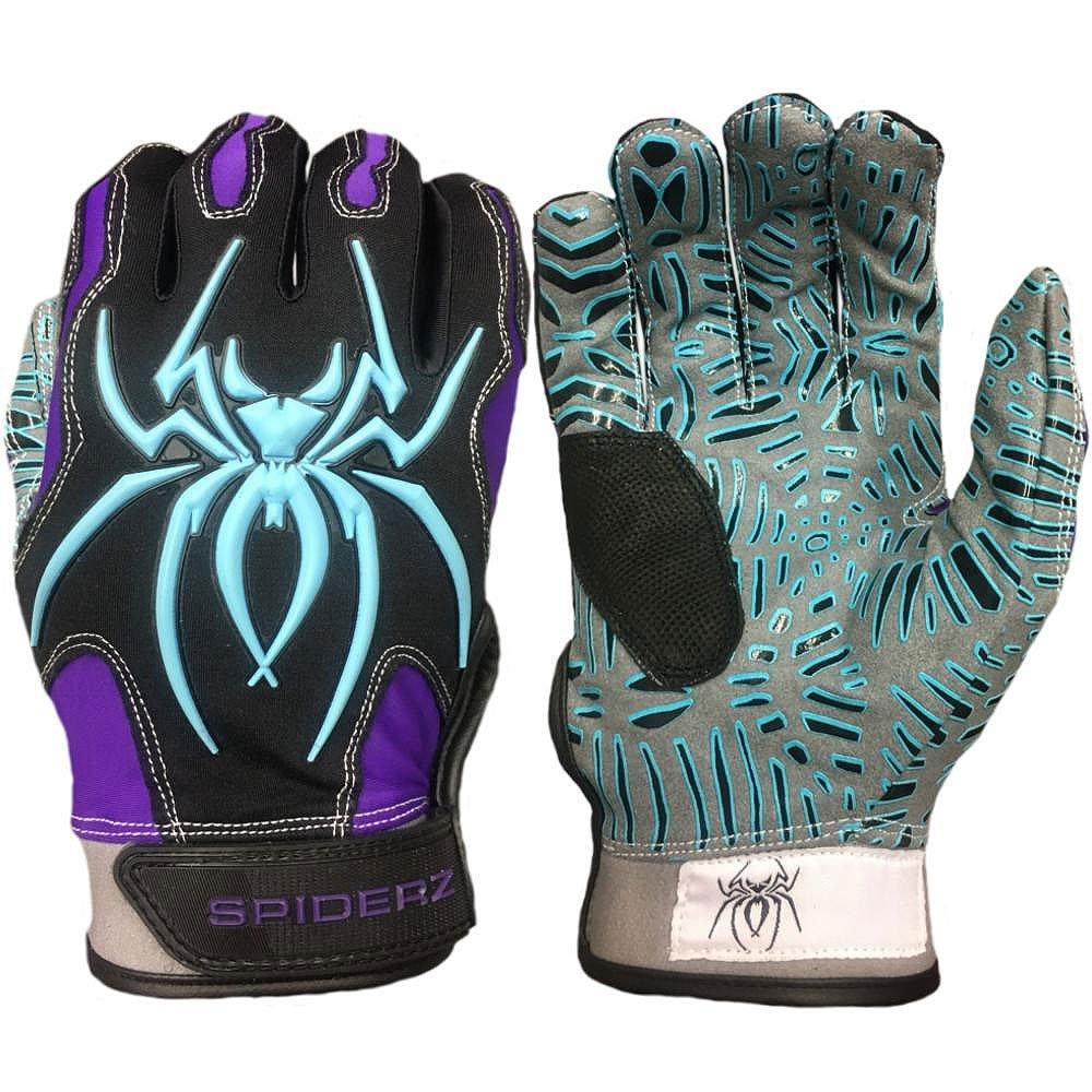 【大注目】 SpiderzハイブリッドTac Palm大人用野球/ソフトボールバッティング手袋 B07FVM6L2J B07FVM6L2J, JAいぶすきみのり館:7523b58d --- a0267596.xsph.ru