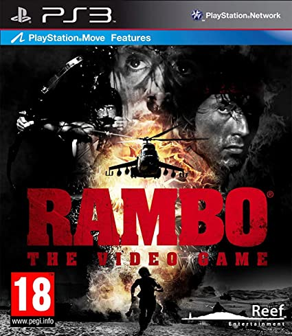 Reef Entertainment Ltd Rambo The Video Game, PS3 PlayStation ...