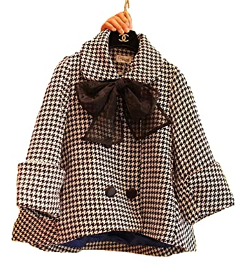 4f5cac7902048 Angel Lily Oversized coat HOUNDSTOOTH wool blend A line swing jacket plus  size 0x