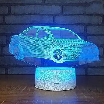 Iluminación Infantil Nocturna,Ilusión Óptica De Luz Nocturna En 3D ...