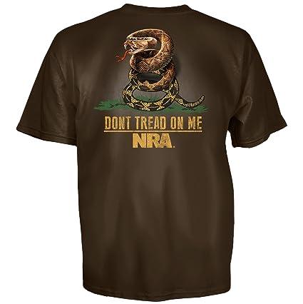 09570ae9 Amazon.com: NRA Men's Don't Tread Short Sleeve T-Shirt: Sports ...