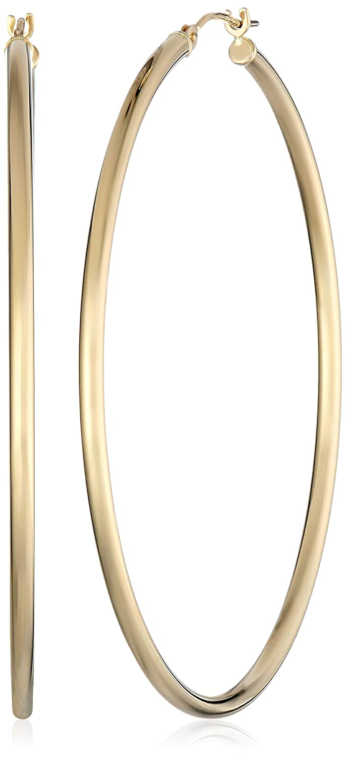 bvlgari l earrings large pink ring gold hoop golden b