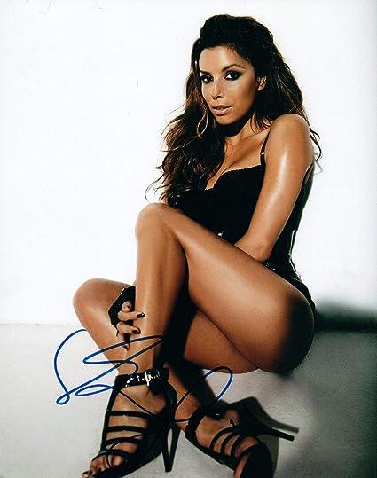 Eva Longoria Signed Autographed 8x10 Photograph Attractive Fashion Autographs-original