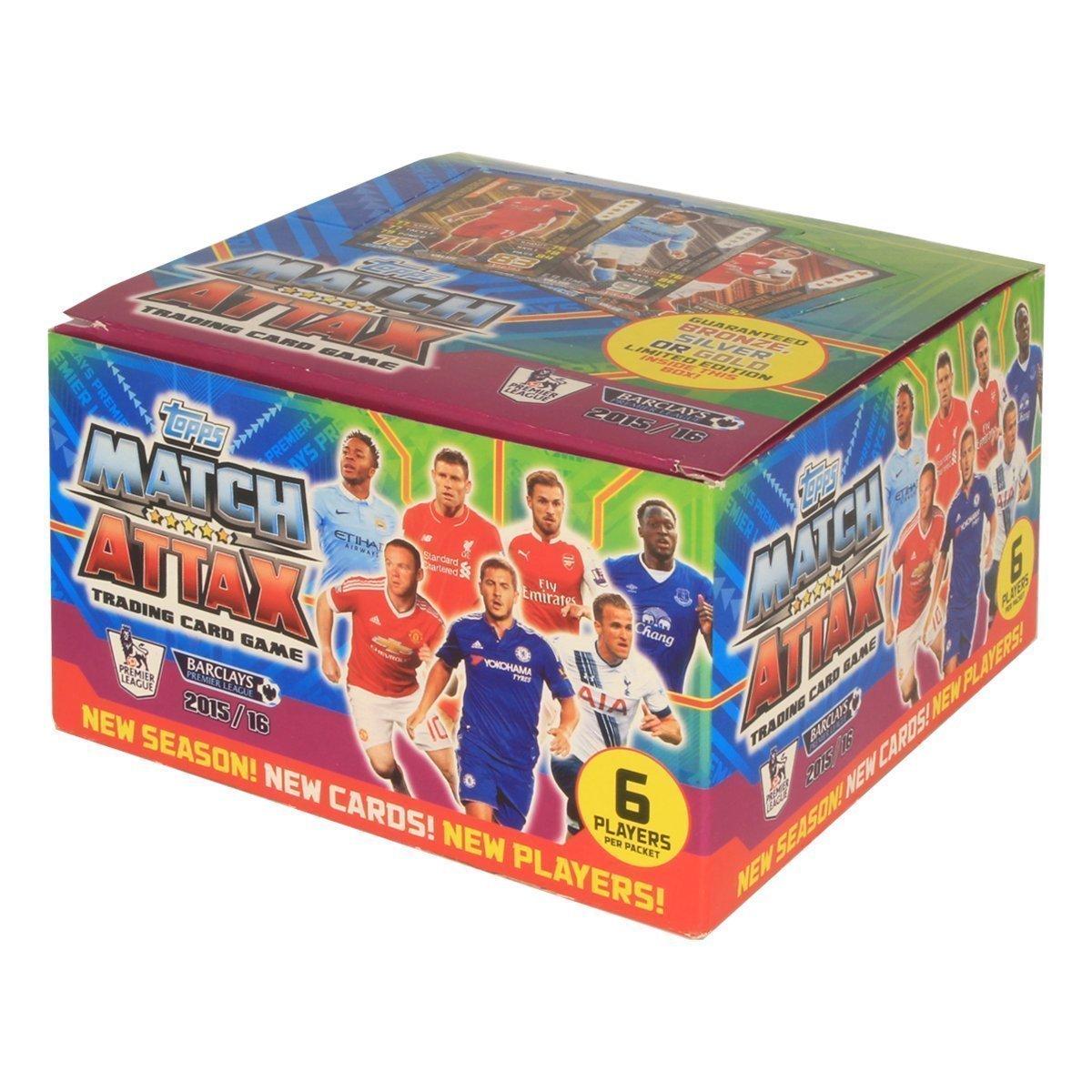 Topps Match Attax 2015 2016 (50 Packs) 15 16 Packets