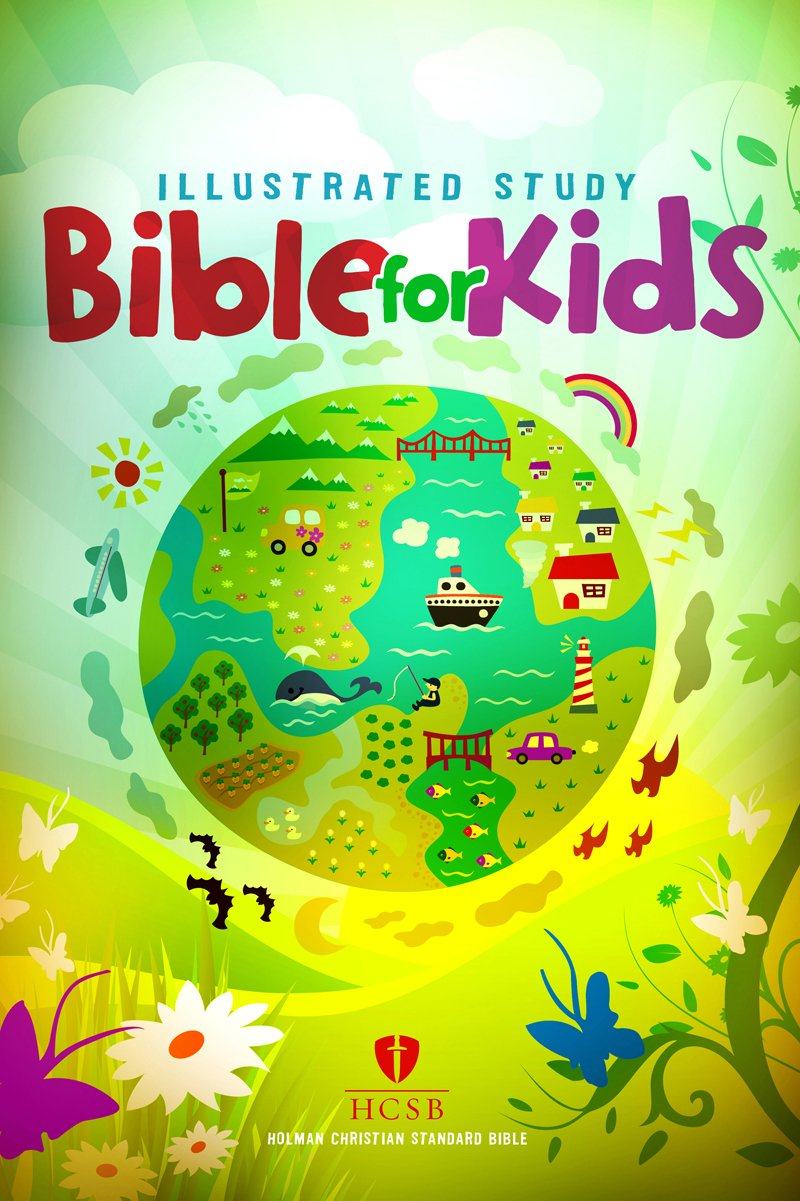 hcsb illustrated study bible for kids hardcover holman bible