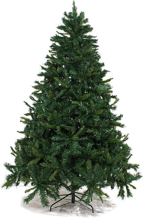 Albero Di Natale 240 Cm.Albero Di Natale Florida 240 Cm Abete Natalizio Artificiale Amazon It Casa E Cucina