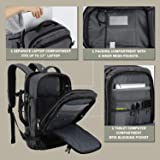 MIER Travel Backpack 17 Inches Laptop Carry On