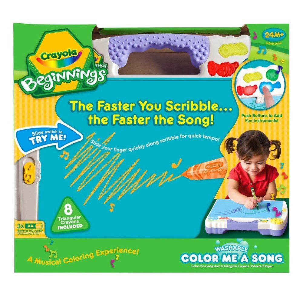 Amazon.com: Crayola Beginnings Color Me A Song: Toys & Games