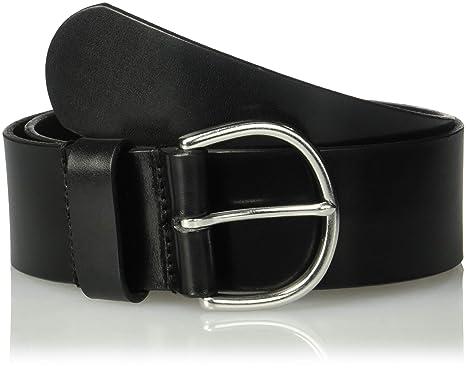 e35862551 Circa Leathergoods Circa Women's Refined Smooth Leather Belt, Black X-Small