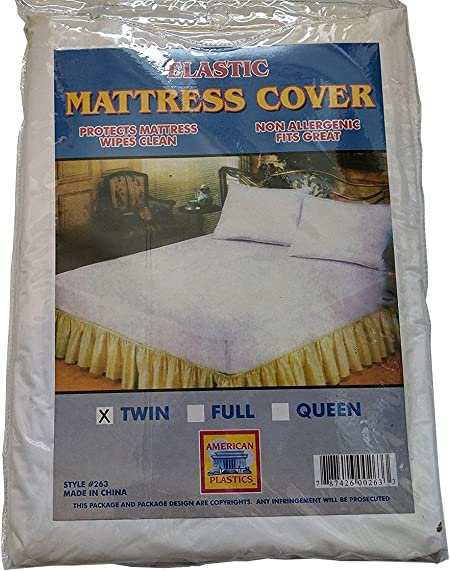1 Pack Greenco Bed Bug Barrier Mattress Protector Twin Size