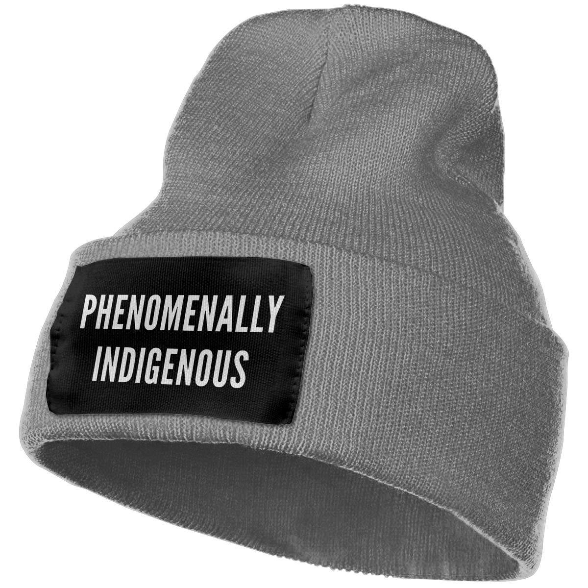FORDSAN CP PHENOMENALLY Indigenous Mens Beanie Cap Skull Cap Winter Warm Knitting Hats.