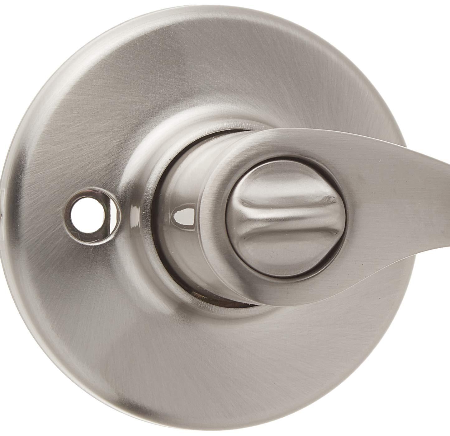 Exterior Door Handle Weiser Belmont Entry Lever Featuring SmartKey 9GLC5350-034 Satin Nickel