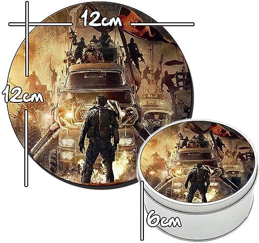 Mad MAX Fury Road Tom Hardy B - Caja metálica Redonda de estaño ...