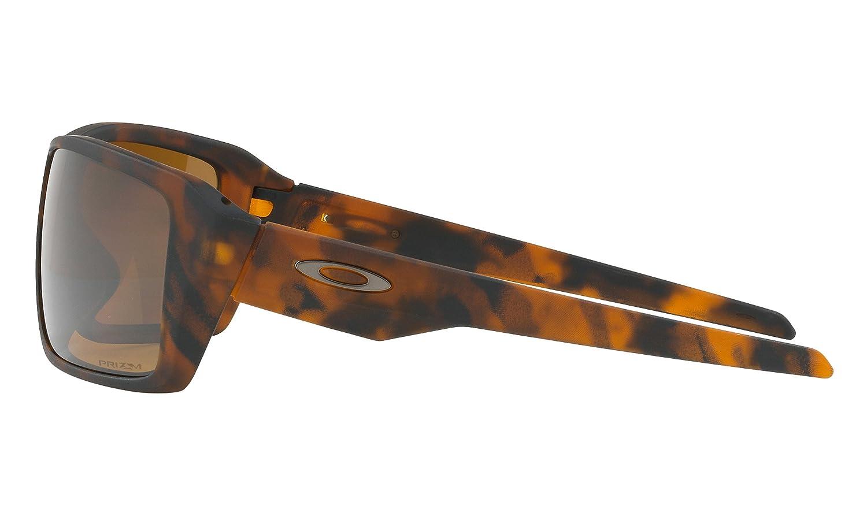 45ab7803dc6 Amazon.com   Oakley Double Edge Sunglasses Matte Tortoise with Prizm  Tungsten Polarized Lens + Sticker   Sports   Outdoors