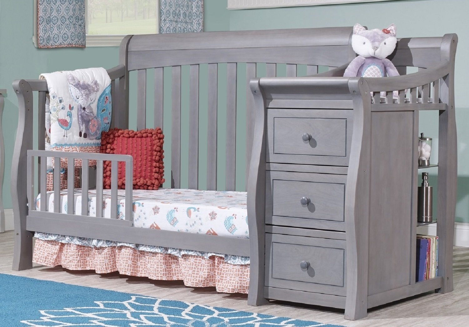 Sorelle Tuscany Toddler Rail, Weathered Gray by Sorelle (Image #2)