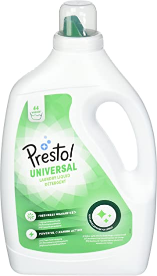 Marca Amazon - Presto! Detergente universal líquido, 176 lavados ...
