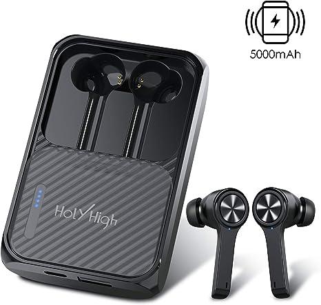 Ladebox Bluetooth 5.0 Kopfhörer Stereo Kabellos Sports Ohrhörer Im Ohr Headset