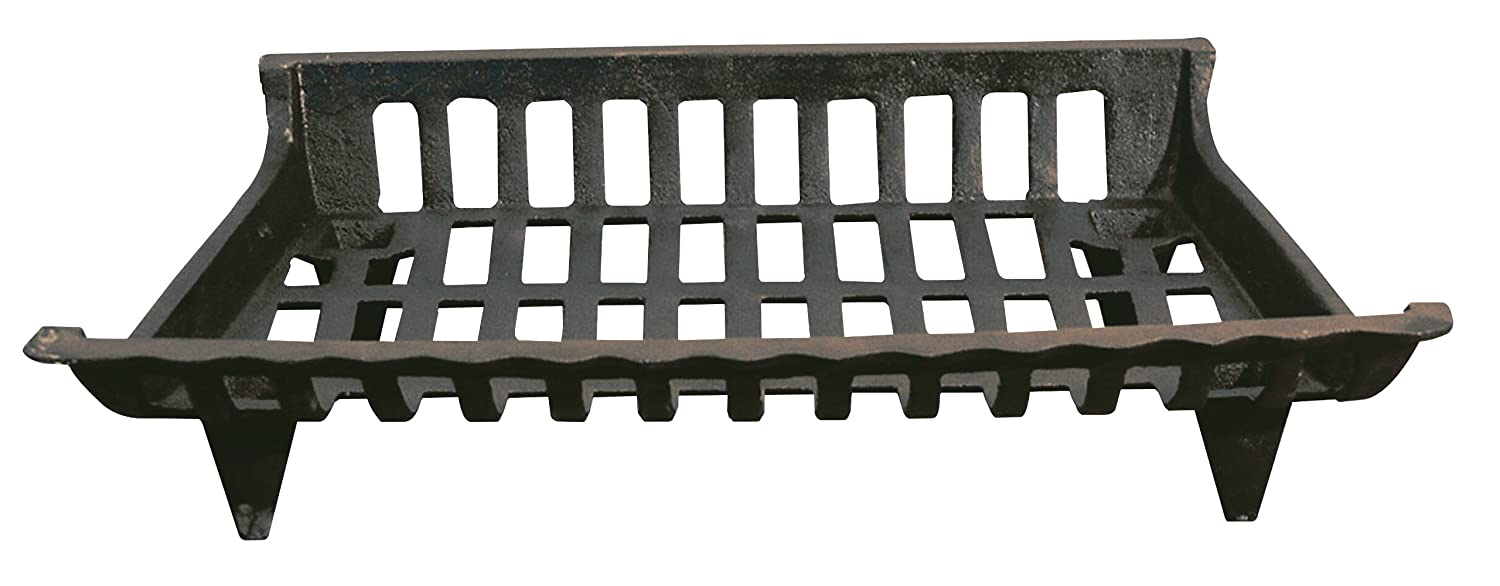 Panacea 15424 Cast Iron Fire Grate, Black, 24-Inch