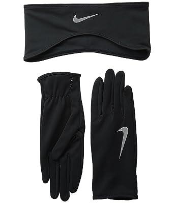 Nike Lady Dri-Fit Glove And Headband Running Set