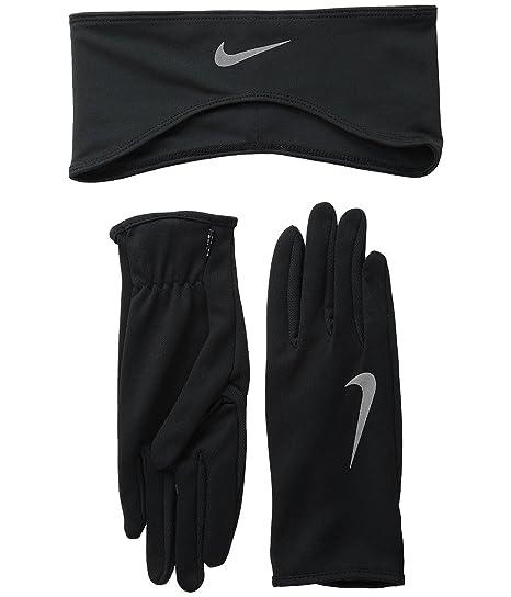Nike Dri-Fit para Mujer Guante y Cinta para Running Set: Amazon.es ...