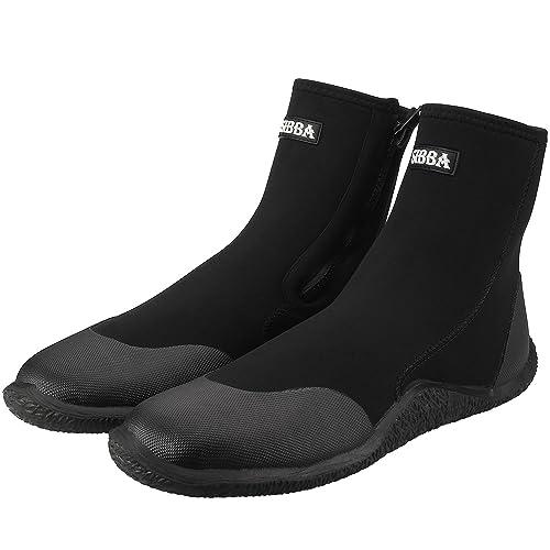 Sibba Unisex 5mm Zapatos de Buceo de Neopreno Superior con ...