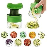 Gemüseschneider Cherbell Kartoffel Spiralschneider Gemüsespaghetti Kartoffel, Zucchini, Spargelschäler, Gurkenschneider, Gemüse Spiralschneider